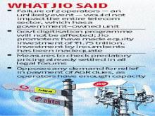 AGR payments: Reliance Jio slams peers, questions telecom sector stress