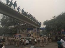 Tis Hazari Court clash in Delhi