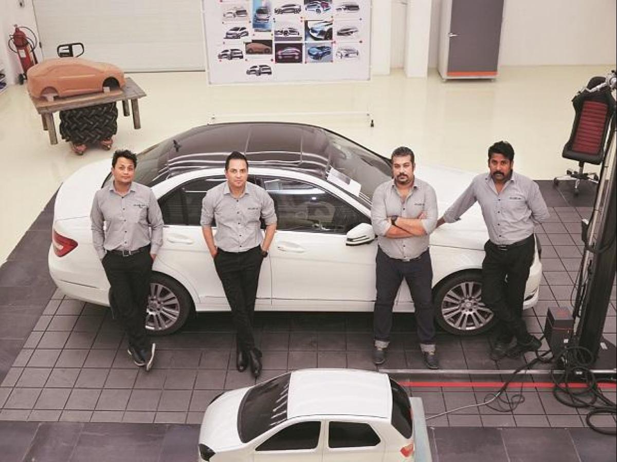 Studio34 Set To Roll Out Fully India Made Car For International Auto Show Business Standard News