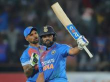 India vs Bangladesh 2nd T20I, Rohit Sharma, Shikhar Dhawan