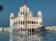 A view of Gurdwara Kartarpur Sahib in Pakistan   Photo: PTI