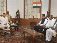 Maharashtra Governor Bhagat Singh Koshyari, Fadnavis, MAHARASHTRA CM, Devendra, BJP