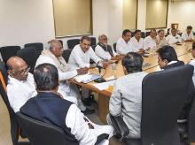 Congress leaders in Maharashtra
