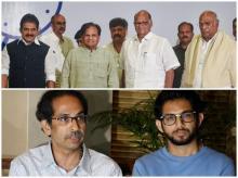Shiv Sena, NCP, INC