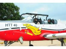 RKS Bhadauria became the first serving IAF chief to fly an HAL-developed aircraft at the prototype stage
