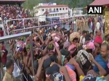 Pilgrims visit Sabarimala