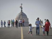 Air Quality Index. PM2.5, PM10, Delhi Air Pollution