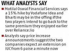 Telecom companies' stocks may continue their surge, thanks to Reliance Jio