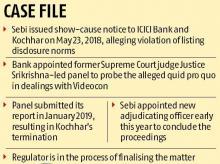 Videocon case: ICICI Bank mulls consent plea as Sebi issues fresh notice