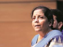 Nirmala Sitharaman, Finance Minister,