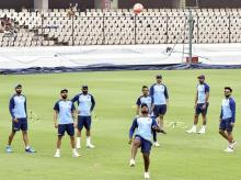 India cricket team, Rajiv Gandhi International Stadium