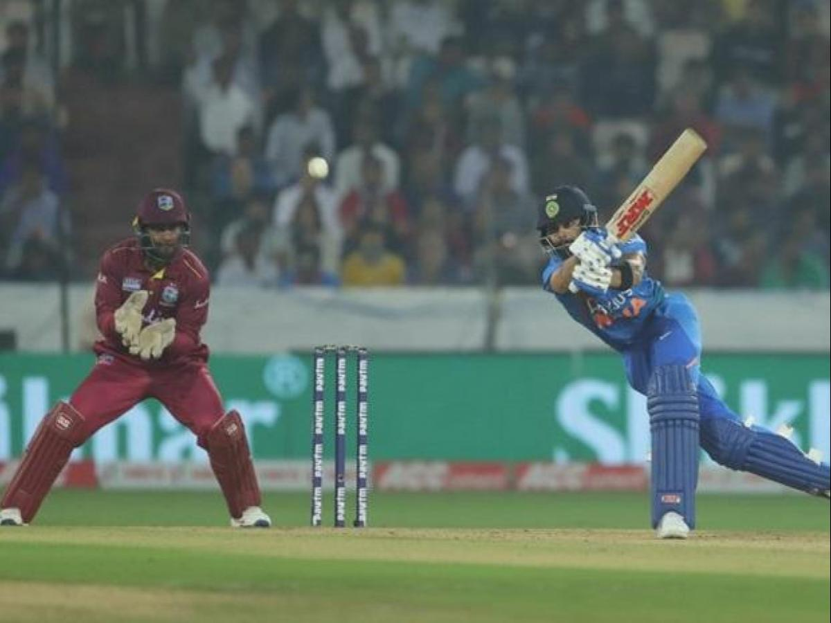 1st T20 highlights: Classy Kohli's 94* powers India's record chase vs WI |  Business Standard News