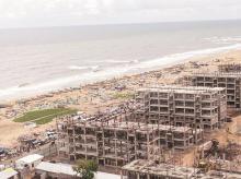 chennai, water crisis, beach, construction, coastal, coast
