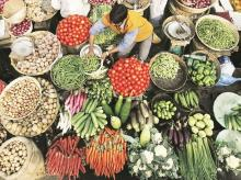 food, vegetables, inflation, retail inflation