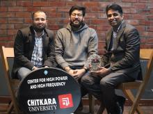 Left to right: Toodecimal cofounders Debarshi Ghosh, Kartik Vij, and Nitin K Saluja