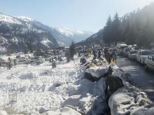 snow, kashmir, himachal, winter, climate