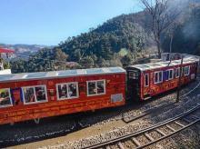 Toy Train, Shimla, Shimla-Kalka Heritage rail tracks, India's first Vista Dome Train , Him Darshan Express,