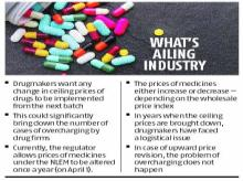 Govt reviews industry's demands to implement changes in drug price policy