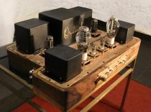A vacuum tube amplifier designed and handcrafted by Buland Shukla, Director, Audiophile Sound Systems Pvt Ltd. Price: Rs 5.35 lakh
