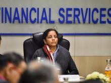 Nirmala Sitharaman,FM, Finance minister