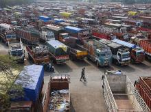 Transport strike, trucks, protests, bharat bandh, unions, trade, strike