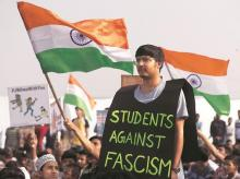 Student protests against CAA-NRC have helped create public pressure. Francis Mascarenhas / Reuters