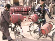 Gas, cylinder, LPG