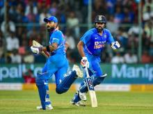 Virat Kohli, Rohit Sharma, india vs Australia