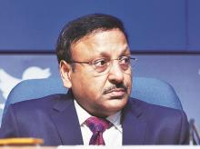 Finance Secretary Rajiv Kumar