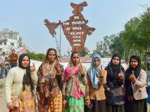 Shaheen Bagh, citizenship bill, CAA, Protests, Voters, Voting, Delhi, Elections, Polls