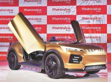 Mahindra Funster  EV concept which was launched in Auto Expo 2020