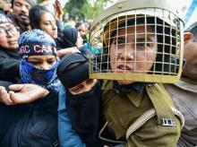 Citizenship Amendment Act, police, CAA, CAB, NRC, Protest