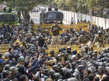 Police, Protests, Jantar Mantar, CAA, CAB, Citizenship