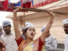 AAP, delhi election results, election polls, delhi election