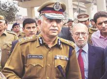 Delhi Police Commissioner S N Shrivastava