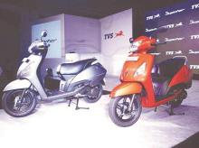 TVS Motor domestic sales drop 36% in June, exports down by a fourth
