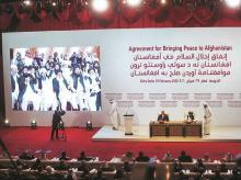 US-Taliban, afghanistan, kabul, truce agreement, deal