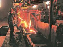 Steel, iron, metal, manufacturing, core sector, industries, manufacturing
