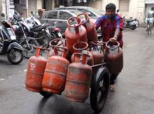 LPG, cylinder