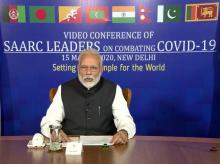 PM Modi holds SAARC video summit
