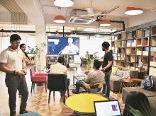 coworking, cowork, shared workspace, WeWork, awfis, smartworks