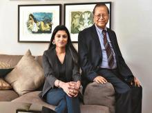 Vinati Saraf Mutreja  and Vinod Saraf