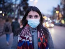 danish woman, coronavirus, woman, mask