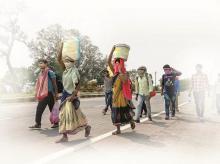 Migrant exodus