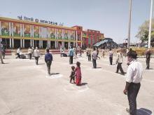 new delhi, railway station, railways, coronavirus