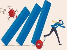Analysts say investors could steer clear of stocks in the sectors that have high debt and high impact on revenues because of the Covid-19 pandemic