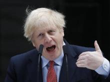 British PM, Boris Johnson, coronavirus