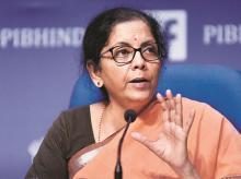 Finance minister, FM, Nirmala Sitharaman
