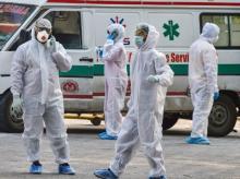 lockdown, coronavirus, Health workers