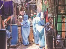 Health workers, DOCTORS, nurses, screening, testing, dharavi, mumbai, coronavirus